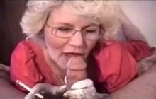 Grandma oral sex with smoking